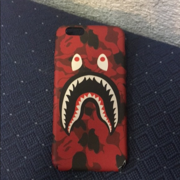new product e79cc f080d Red Bape Case iPhone 6/6s